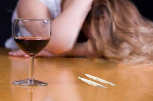 Alcohol y cocaína, un combinación peligrosa